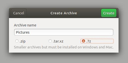 7zip for ubuntu